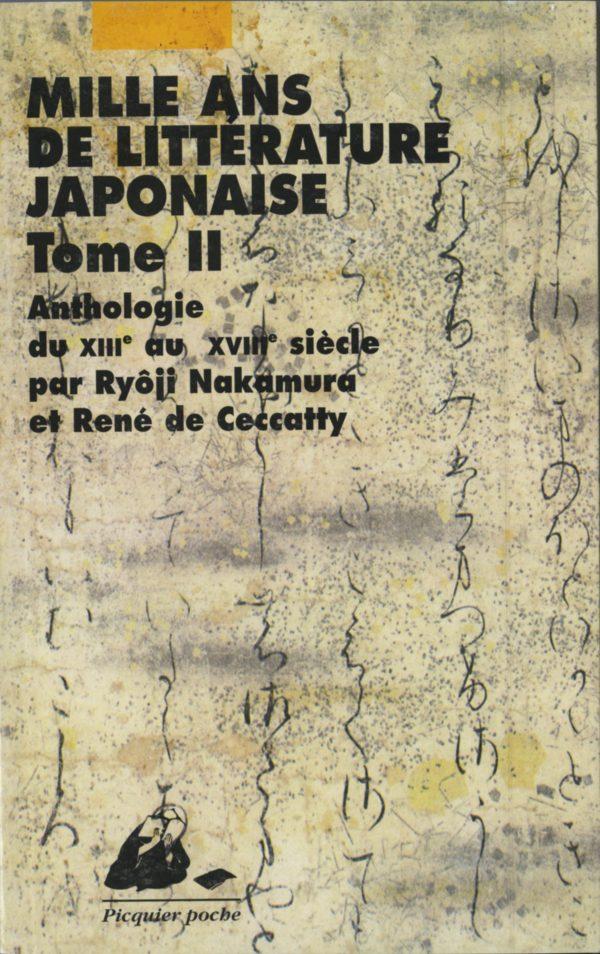 Mille ans de littérature japonaise Poche Tome 2