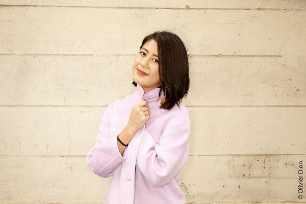 Jenny Zhang pour son livre âpre coeur chez éditions Philippe Picquier
